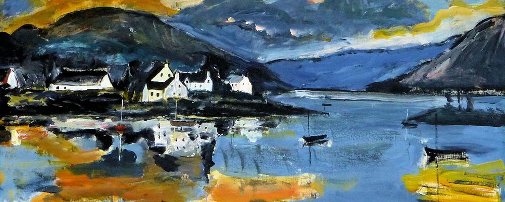 Early morning light – Plockton am Loch Carron