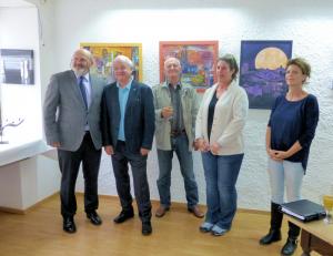 Oktober 2015: Jaru ist in den Kunstverein Deggendorf aufgenommen worden.