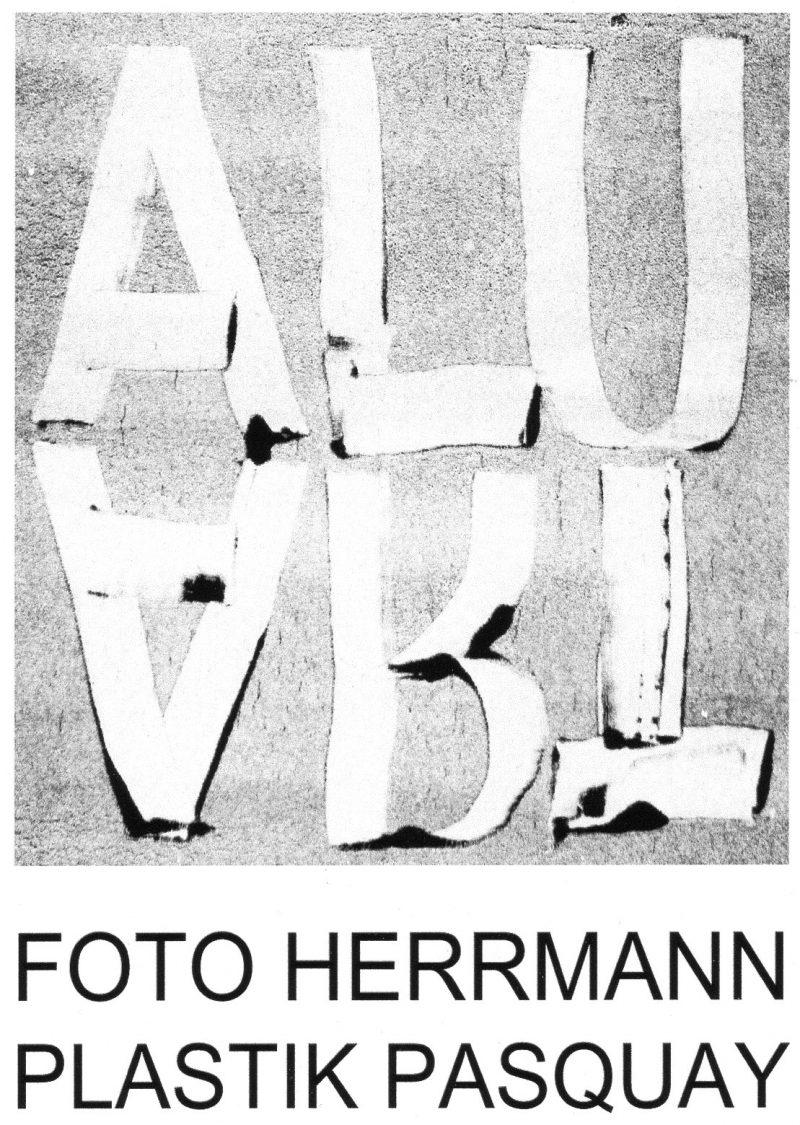 17. Januar 2018: Ausstellung ALUART mit Fotos von Ernst Herrmann und Plastiken von Johannes Pasquay in der Galerie PASQUAY in Deggendorf. Laudator: Peter Jaru