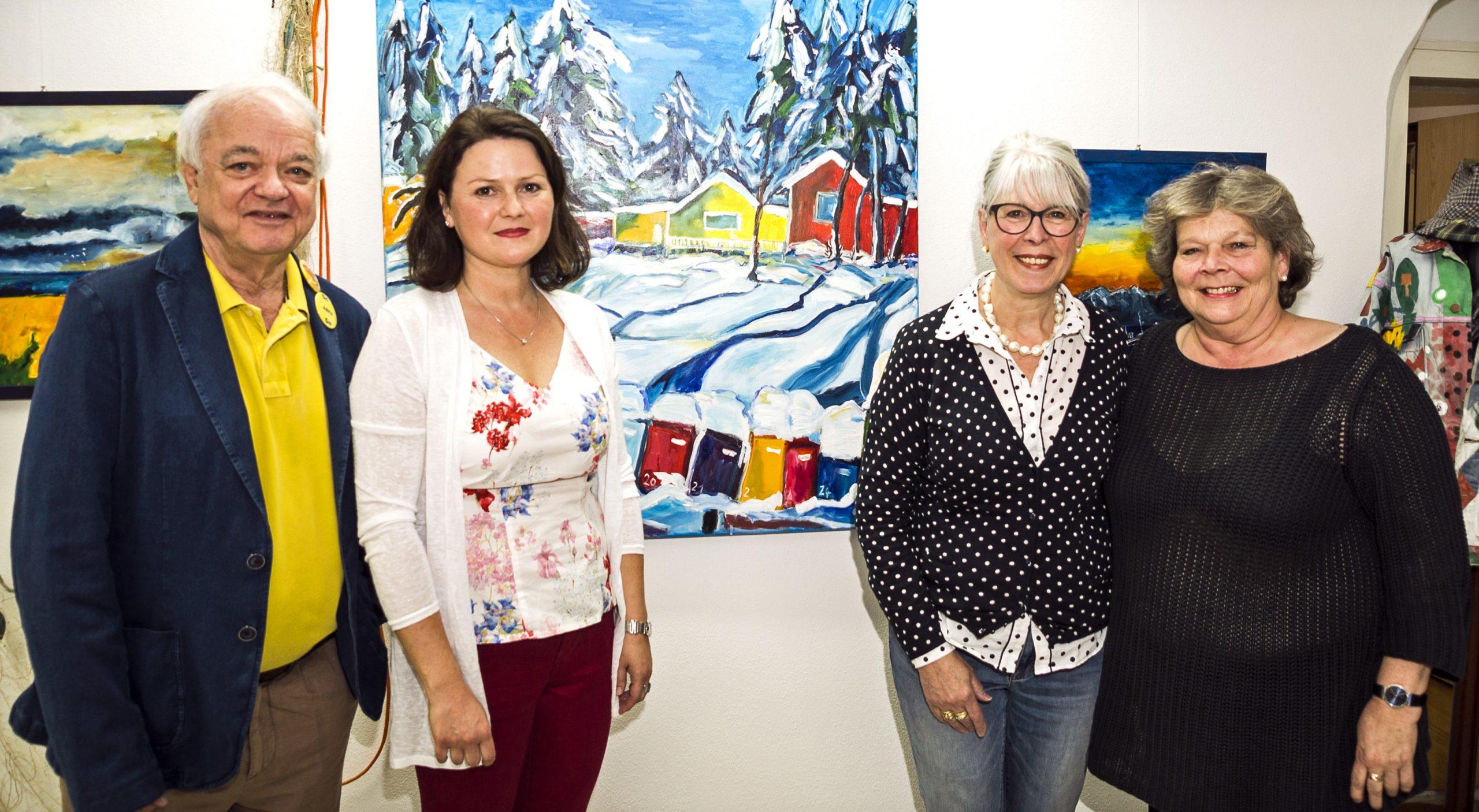18. Mai 2018: Jaru in Skandinavien. Ausstellung in der KunstWerkStatt in Deggendorf mit 14 Bildern aus Skandinavien.