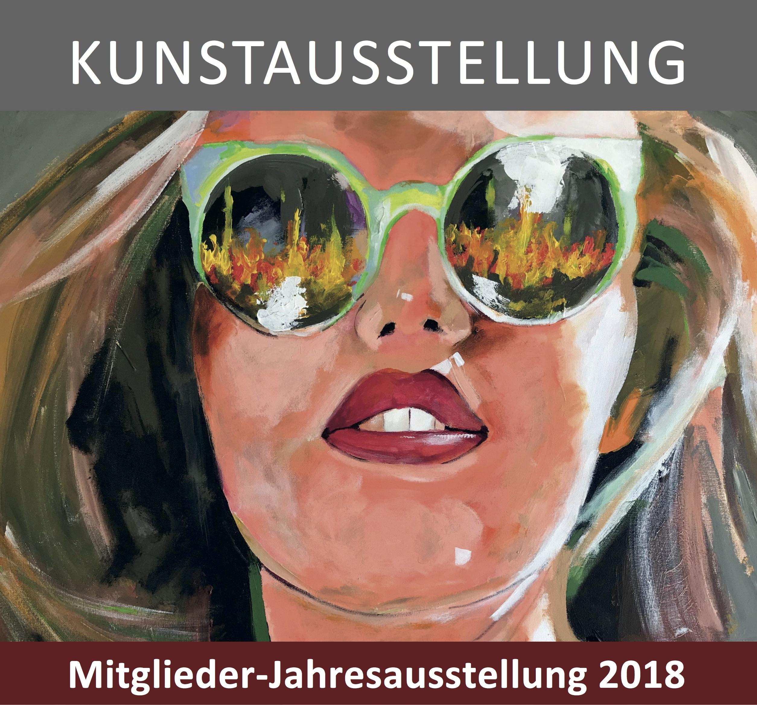 13. Dezember 2018: Vernissage zur Mitglieder-Jahresausstellung des Kunstvereins Deggendorf im Kapuzinerstadl. Die Ausstellung dauert bis zum 05. Januar 2019.