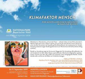 07. August 2019: Der Kunstverein Deggendorf eröffnet seine nächste Ausstellung. Dieses Mal an einem ganz besonderen Ort.