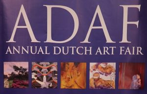 11. bis 13. Oktober 2019 Kunstmesse ADAF 19 (Annual Dutch Art Fair) in Amsterdam.