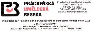03. Dezember 2019 bis 31. Januar 2020: Von Plattling aus nach Pisek