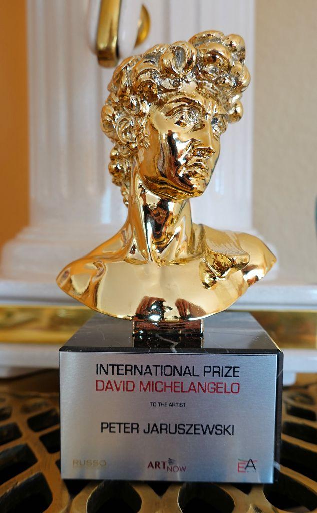 JARU erhält den International Prize David Michelangelo