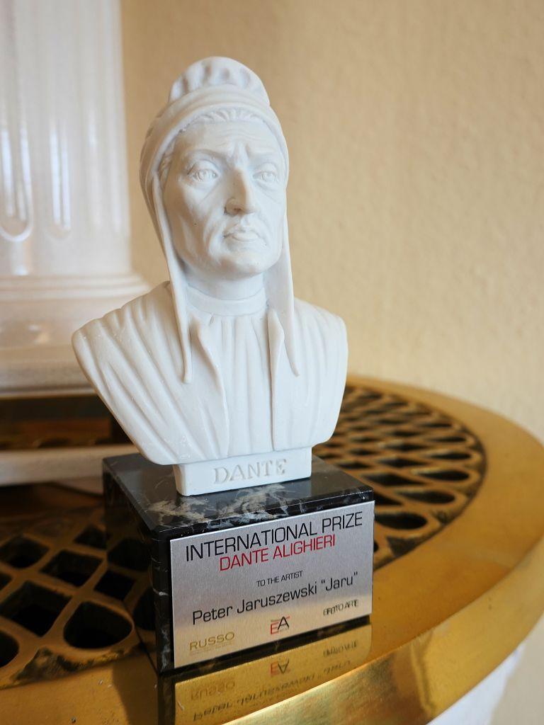 JARU erhält den International Prize Dante Alighieri.
