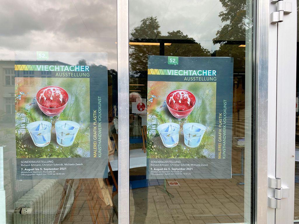 52. Viechtacher Ausstellung vom 07. August bis zum 05. September 2021 in der Mittelschule Viechtach im Bayerischen Wald